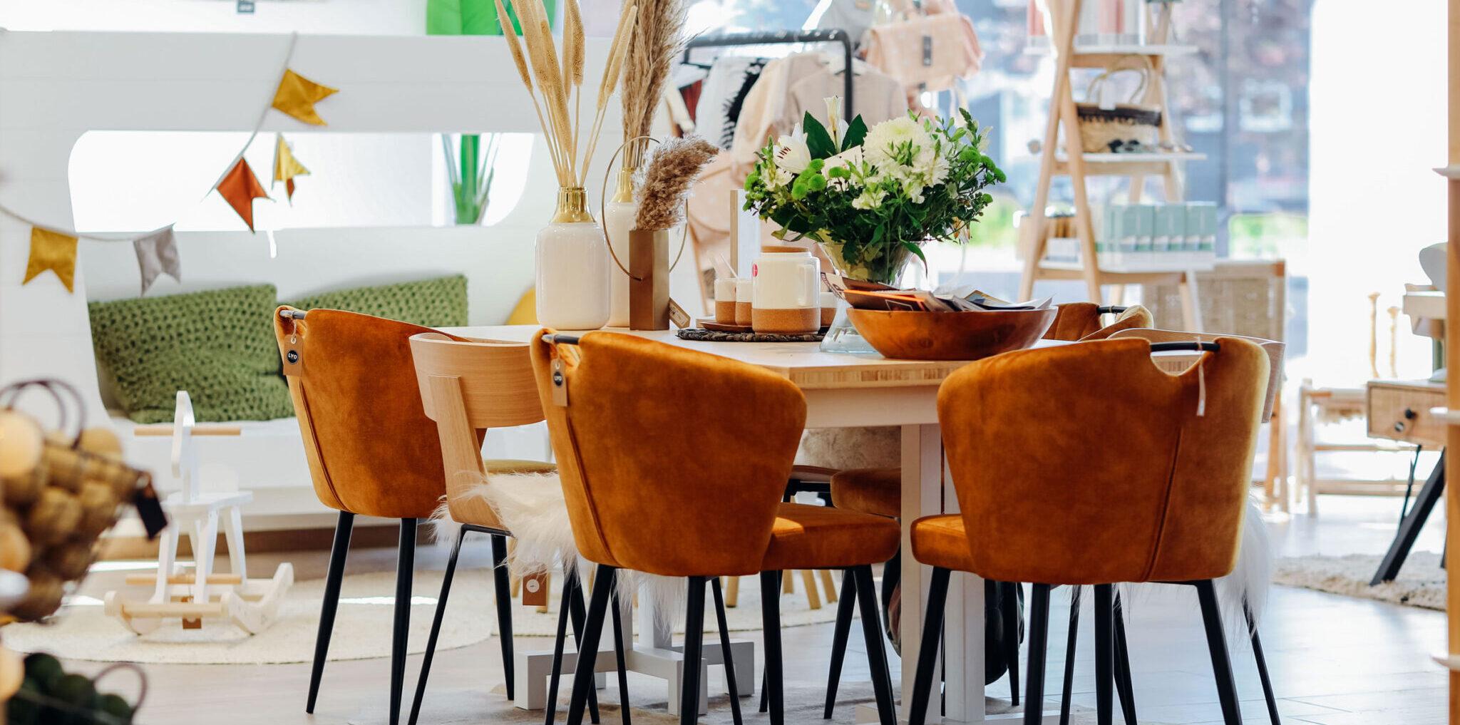 Foto van het interieur van LYO stijlboetiek in Oostburg